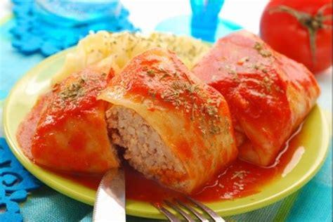 recette cuisine polonaise recette de golabki chou farçi à la polonaise facile et