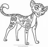 Lion Guard Fuli Coloring Pages Colouring Kion Printable Bunga Makuu Getcolorings Api Sketch Template sketch template