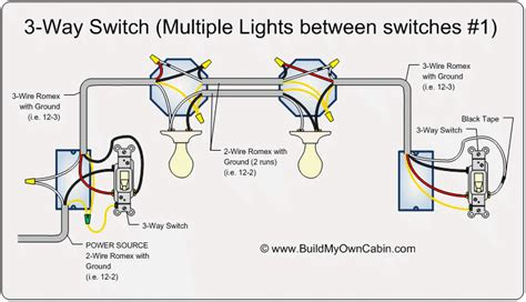 Electrical How Convert Way Circuit With Two