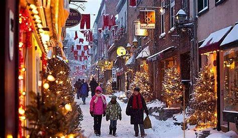 top  cities  canada  christmas holidays