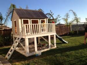 Home Projects Do It Yourself Playhouse