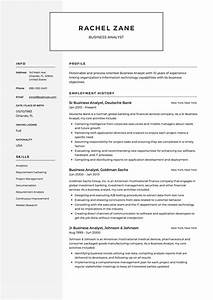 Business Analyst Resume  U0026 Guide
