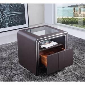 Table De Nuit : chevet table de nuit design s85 paolo collaner ~ Teatrodelosmanantiales.com Idées de Décoration