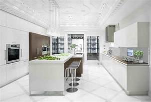 White Kitchen Ideas by Shades Of White Kitchen