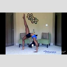 How To Do A Backbend Kickover  Youtube
