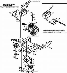 Bunton  Bobcat  Ryan 934007g 16hp Kawasaki 48 Classic Pro Parts Diagram For Engine Deck Assembly