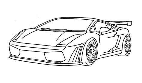 How To Draw A Lamborghini Gallardo (car)