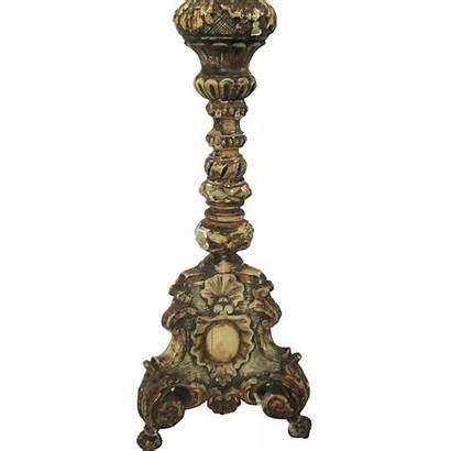 Antique Lamp Candlestick Pricket Rubylane