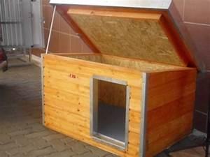 Niche Interieur Pour Chien : niche madera toit inclin porte d cal e ~ Melissatoandfro.com Idées de Décoration