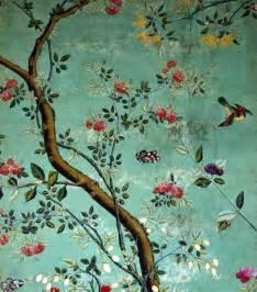 Papier Peint Turquoise Fleur by A Man With A Past