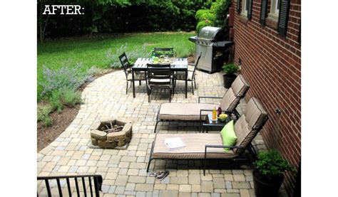 may days a small patio makeover before after backyard patio willard and may outdoor