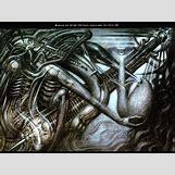 H.r. Giger Alien Wallpaper   1024 x 768 jpeg 232kB