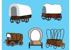 Vector Covered Wagons - Download Free Vector Art, Stock ...
