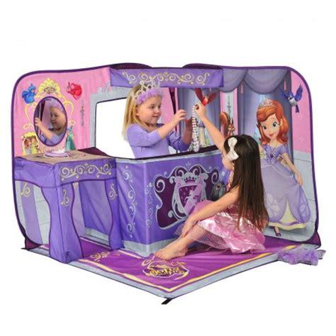 jeu de decoration de chambre château tente de princesse à installer dans une chambre de