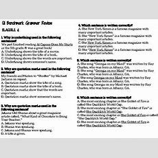 5th Grade Common Core Ela Multiple Choice Practice Worksheets By Catherine T