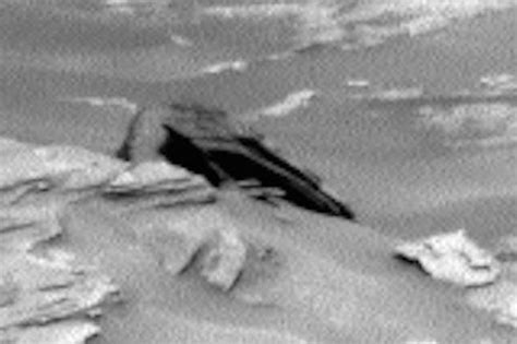 pictured crashed space craft resembling star wars