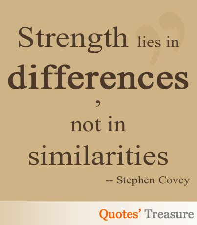Famous Quotes About Differences And Similarities