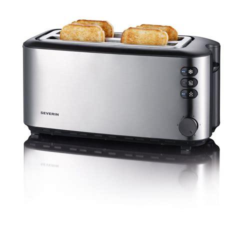 tostapane 4 toast severin automatic slot toaster 4 slice 1400w brushed