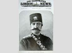 Naser Aldin Shah Qajar on front page of Illustrated