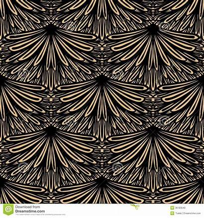 Deco Pattern Vector Floral Seamless Geometric Texture