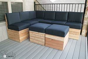 DIY Modular Outdoor Seating - Shanty 2 Chic