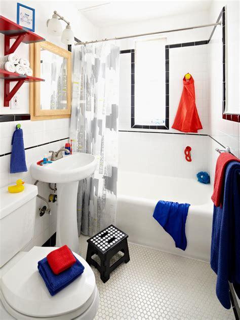 Boys In The Shower - inspired boys bathroom diy