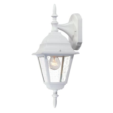 acclaim lighting builders choice 16 in h textured white