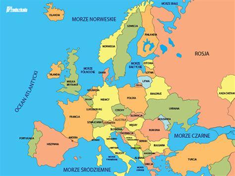 mapa europy