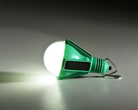 world s only solar powered light bulb wired