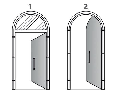 infisso porta porte ad arco infissi e soluzioni non convenzionali