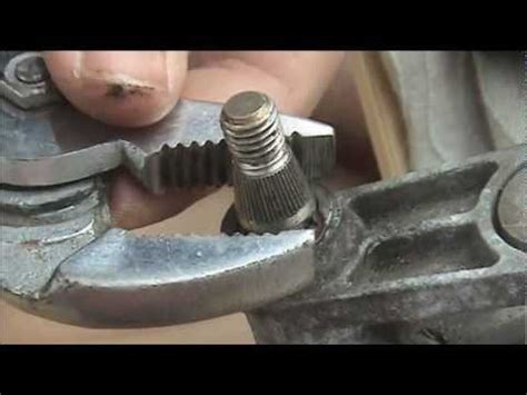 repair seized wiper spindles youtube