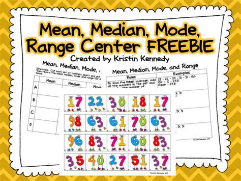 range median and mode median mode and range center data graphs median mode range