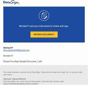how do i sign a docusign document docusign support center With electronically sign documents free