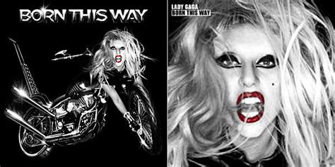 Lady Gaga Reveals 'born This Way' Album Cover