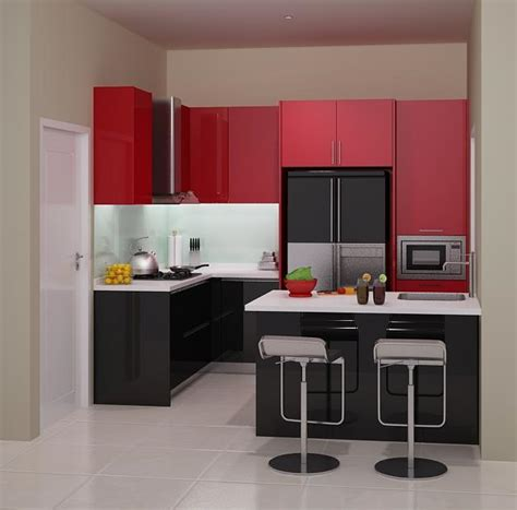 design kitchen set mini bar harga 70 model gambar kitchen set minimalis 8630