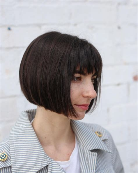 46 bob with bangs hairstyle ideas trending for 2018