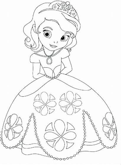 Coloring Princess Pages Disney Jasmine Princesses Pdf