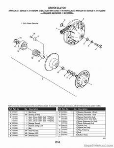 Polaris Ranger 2 U00d74 4 U00d74 6 U00d76 Series 11 Parts Manual