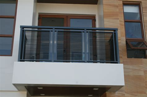 Latest Balcony Railing Designs For Modern Exterior Home