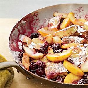 Kaiserschmarrn With Peaches Recipe Grace Parisi Food