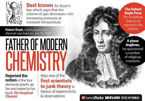 robert boyle e l origine della chimica moderna libert 224 e persona