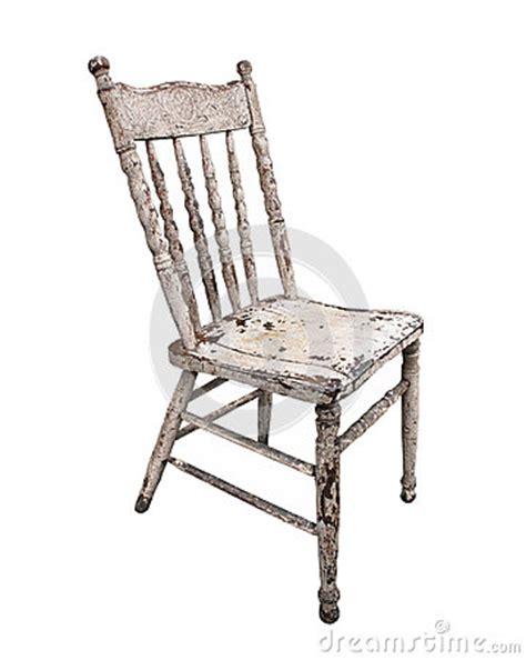worn wooden kitchen chair isolated stock photos