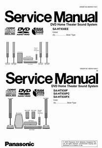 Panasonic Sc Ht930 Home Theater System Service Manual And