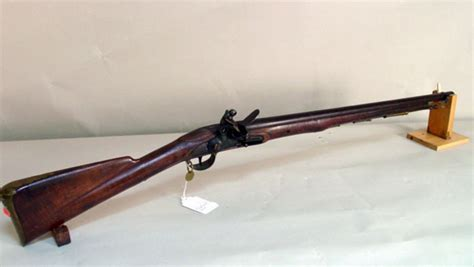 East India Co flintlock carbine dated 1810 (3)