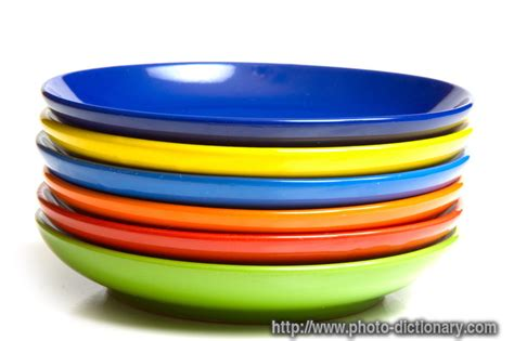 saucers photopicture definition  photo dictionary saucers word  phrase defined