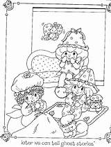 Coloring Pages Party Pajama Slumber Template Shortcake Sleepover Strawberry Sheets Sheet Comcast Cool sketch template