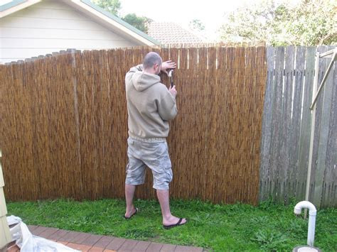 floor planner backyard living bamboo fence