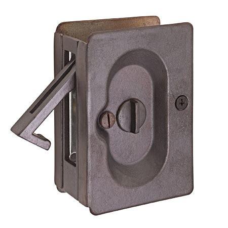 emtek pocket door hardware em2102 emtek privacy pocket door hardware