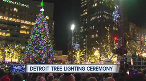 cus martius tree lighting 2017 family holiday and christmas events in detroit 2017 axs