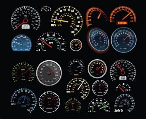 vector speedometer  counter ai svg eps vector